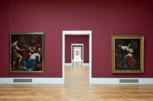 Einblick in die Staatsgalerie Abteilung Italienische Malerei